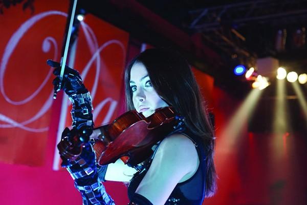 Beatrix die professionelle Violinistin für Ihre Firmenveranstaltung