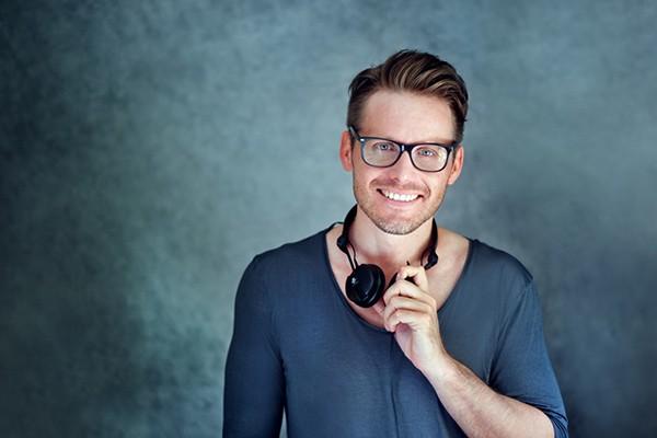 Marc Aurel ist auch DJ Produzent